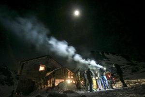 Asado e luna piena