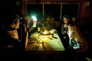 Notte al rifugio
