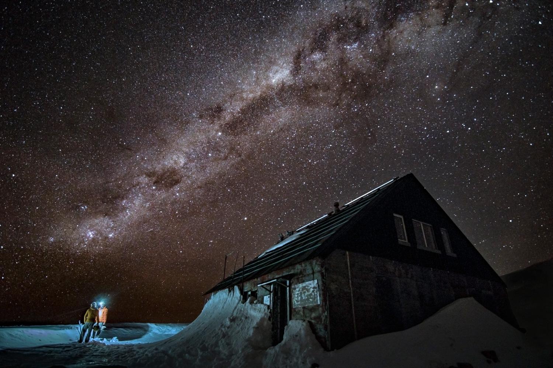 Polvere di stelle sopra il rifugio